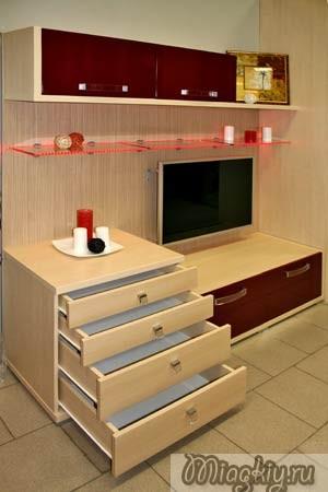 Пристенная Мебель Для Гостиной Фото