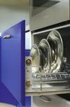 Кухонный гарнитур «Лилия - сине-белая»